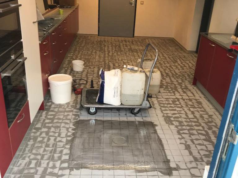 Keukenvloer zorginstelling vught-1
